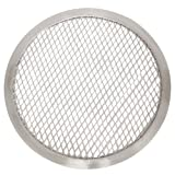 Thunder Group ALPZ13 Seamless-Rim Aluminum Pizza Screen, 13 Inch