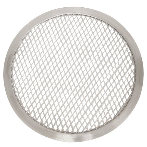 Round Pizza Screens - Thunder Group ALPZ09 Seamless-Rim Aluminum Pizza Screen, 9 Inch