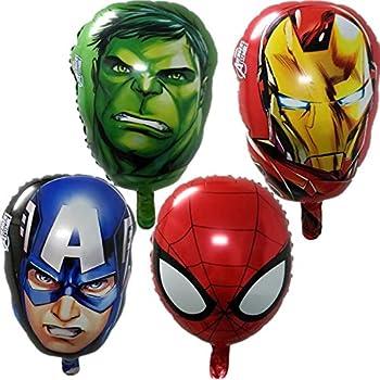 Amazon.com: SUPERHEROES---SPIDER-MAN, SUPERMAN & BATMAN Birthday ...