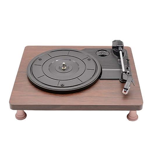 GWX Jugador de Registro de Vinilo, Vinilo Retro gramófono, la ...