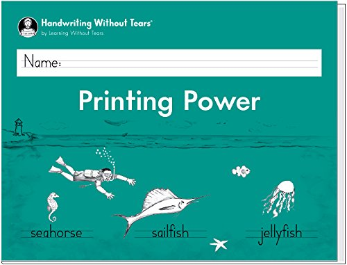 Handwriting Without Tears Printing Power - Grade 2 workbook