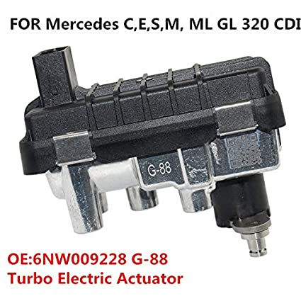 730314 6NW009228 Turbo Electric Actuator for Mercedes E320 R320 ML,GL320 CDi//Bluetec G-88