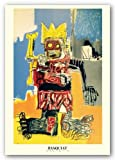"Untitled (1982) by Jean-Michel Basquiat 35.5""x23.25"" Art Print Poster"