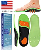 Plantar Fasciitis Inserts Arch Support Shoe Sports Inserts Orthotic Inserts Shoe Insoles Women Men for Plantar Fasciitis High Arch Foot Pain Relieve