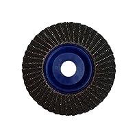 "Taipan Abrasives TP-5094 Platinum Shark Zirconia Flap Disc, Depressed, 120 Grit, 5"" OD, 7/8"" Arbor, 12250 RPM"