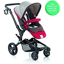 Jané Rider Anodized Aluminum Stroller - Sand