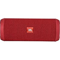 JBL - Flip 3 Portable Bluetooth Speaker - Red