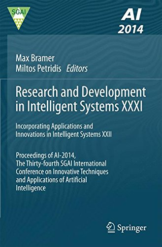 Research and Development in Intelligent Systems XXXI: Incorporating Applications and Innovations in Intelligent Systems XXII