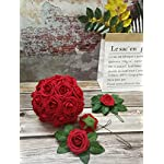 Jing-Rise-50PCS-Fake-Roses-Real-Looking-Artificial-Flowers-For-DIY-Wedding-Bouquets-Centerpieces-Baby-Shower-Party-Home-Office-Shop-Hotel-Supermarket-Decorations-Dark-Red