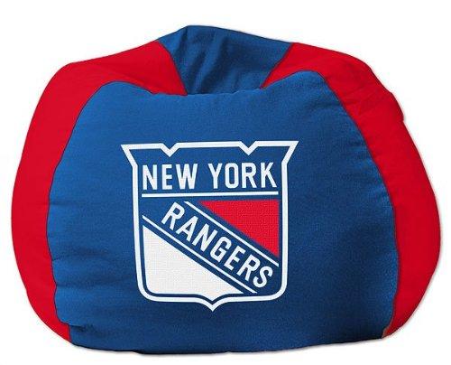 Hugging Bean Bag (NHL Bean Bag Chair NHL Team: New York Rangers)