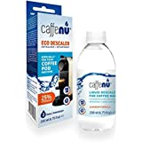 Caffe Nu Eco Liquid Descaler/De-Scaler Designed for Coffe Pod/Capsule Machines inclduing Nespresso Dolce Gusto & Tassimo - 2 Applications per 200ml Bottle (1)