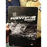 WWE Survivor Series 2008 Limited Edition Tin Case by Vladimir Kozlov, Edge, John Cena, Shawn Michaels, Chris Jericho, Triple H Undertaker