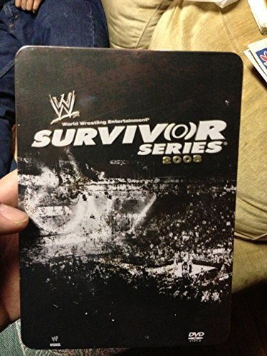 WWE Survivor Series 2008 Limited Edition Tin Case (Wwe Tin Dvd)