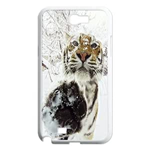 JamesBagg Phone case Animal tiger pattern protective case For Samsung Galaxy Note 2 Case 629035486735