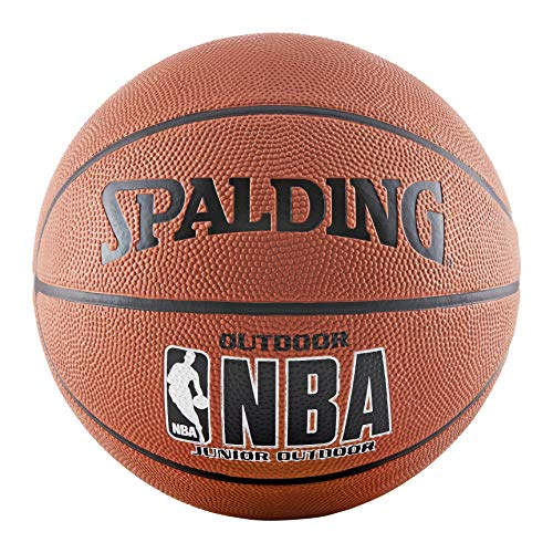 "Spalding NBA Varsity Rubber Outdoor Basketball - Intermediate Size 6 (28.5"")"