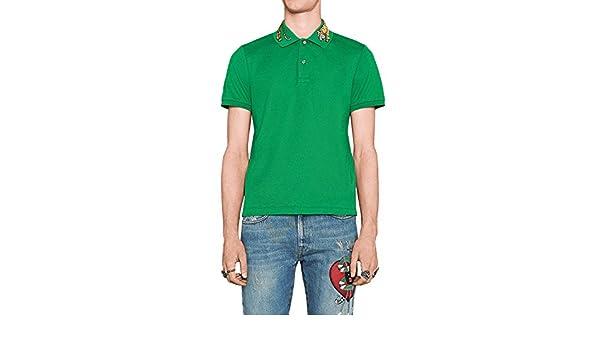 Gucci - Polo de Algodón para Hombre (MNO453865X5H82): Amazon.es ...