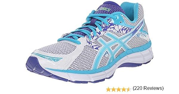 Asics GEL-Excite 3 - Zapatillas de correr para mujer, (Blanco/Azul ...