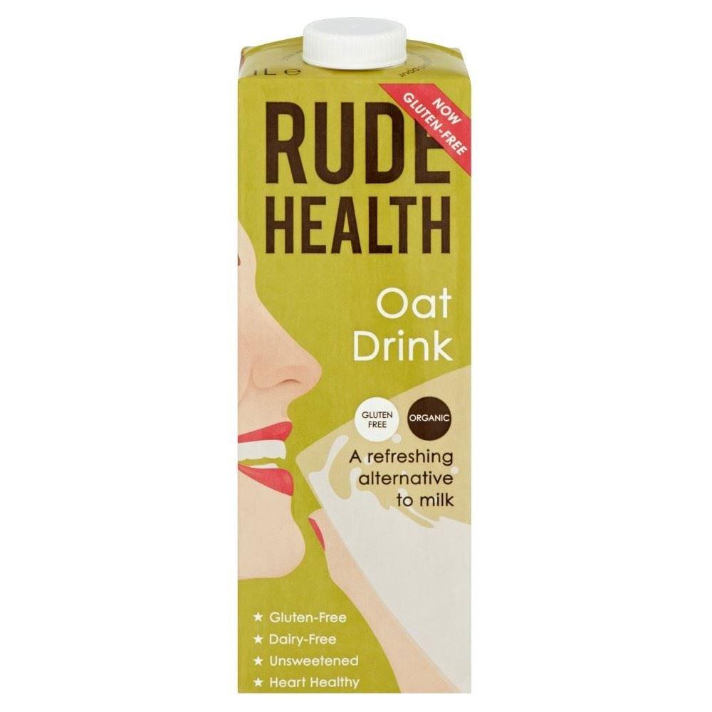 Rude Health Bebida De Avena Orgánica Uht - Sin Azúcar (1L) (Paquete de 6): Amazon.es: Hogar
