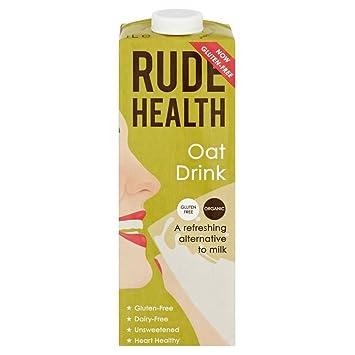 Rude Health Bebida De Avena Orgánica Uht - Sin Azúcar (1L) (Paquete de 2): Amazon.es: Hogar
