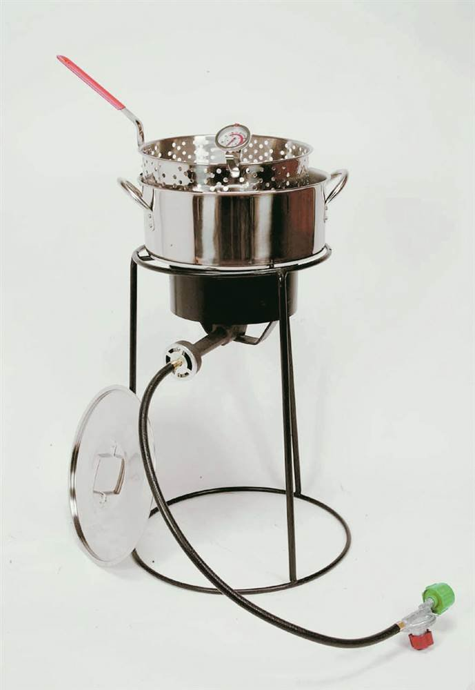 King Kooker 22PKPTS 22-Inch Outdoor Cooker Set by King Kooker