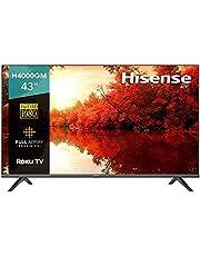 """Hisense 43"""" H4000GM Roku TV con Asistente de Google/Alexa (43H4000GM, 2020) (Reacondicionado)"""