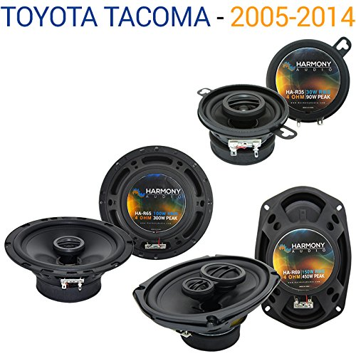 Fits Toyota Tacoma 2005-2014 Factory Speaker Replacement Harmony Upgrade Package New