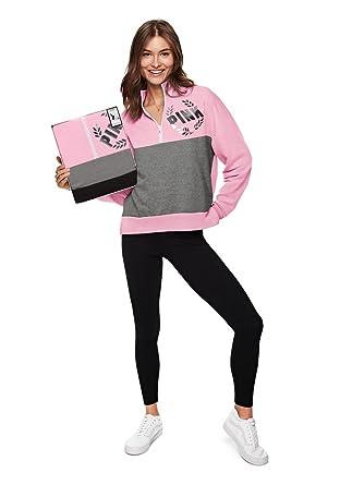 f31c1dc53b5f6 VS PINK Victoria's Secret Pink New! University Quarter-Zip & Legging ...