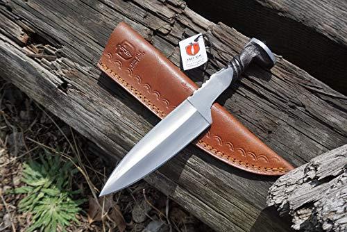 Andy ALM Custom Made Railroad Spike Dagger Knife 24A ()