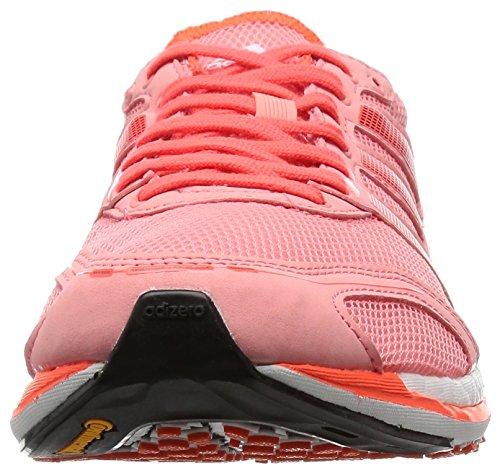 adidas Adizero Takumi Sen 3, Scarpe da Corsa Unisex - Adulto Rosa (Varios Colores (Rosa (Rosray / Negbas / Rojsol)))