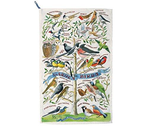 EMMA BRIDGEWATER NEW TEA TOWEL Garden Birds by Emma Bridgewater