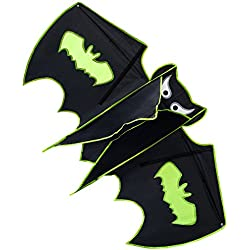 Kite Batman for Kids and Adults - Large Size Cute Design Perfect for Outdoor Activities - Easy to Assemble Launch & Fly – Best Quality Built To Last - by Nicely Home