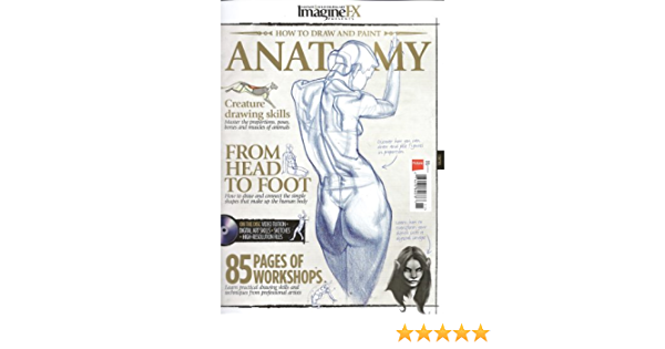 Imagine FX Presents How To Draw And Paint Anatomy: Amazon.es ...