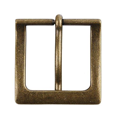 NPET Single Prong Belt Buckle Vintage Distressed Style 1 1/2