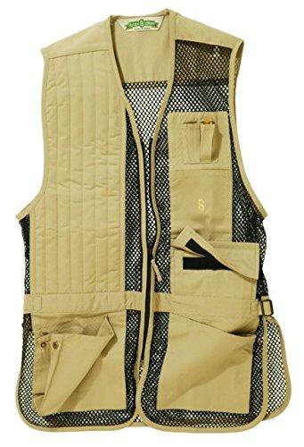 Bob Allen 240M Mesh Shooting Vest, Khaki, Right Hand, Ext...