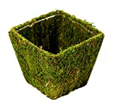 SuperMoss Decorative Baskets are a cute way to organize both indoor & outdoor floral arrangements or centerpieces. They are made from the same high-quality green Mountain Moss as the rest of our creative line. We design decorative table b...