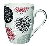 Regalos Flores Y Alimentos Best Deals - Kudos 11 onzas Diseño del estampado de flores de cerámica taza regalo de la taza de té 1 Pieza