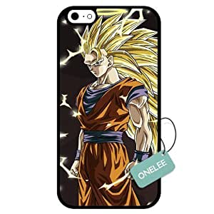 Dragon Ball Cartoon Custom Designed White - Rubber Cover Case For Iphone 6 4.7 Inch TPU Phone Case (Laser Technology)