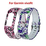 CreateGreat 2016 New Replacement Wristbands with Buckle for Garmin Vivofit band/ Garmin Vivofit…
