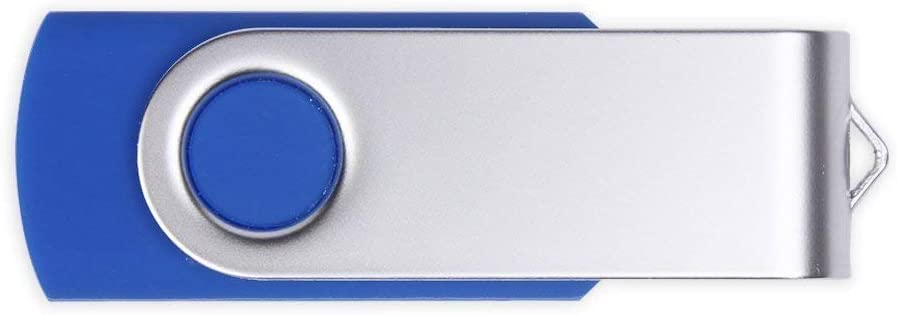 8GB X 50PCS Personalized Rotate Pen Drive Metal Custom Logo USB Flash Memory Sticks