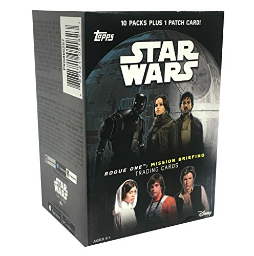 (Topps Star Wars: Road to Rogue One Trading Cards Value Box 10ct, Multicolor)