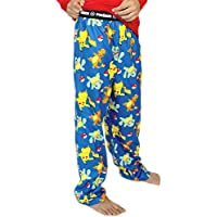 Pokemon Boy's Flannel Pajama Pants (Little Kid/Big Kid)