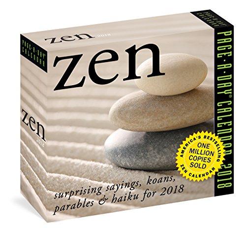 Zen Page-A-Day Calendar 2018 cover