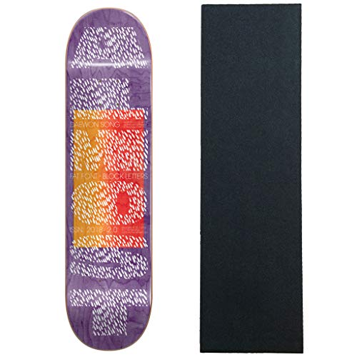 Almost Skateboard Deck Fat Font Pro Song 8.125