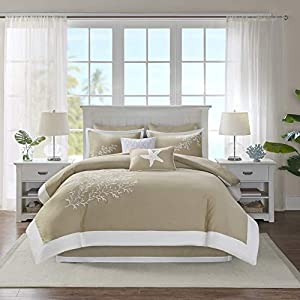 51o0M5-7PmL._SS300_ Coastal Comforters & Beach Comforters