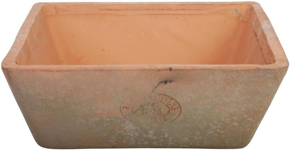 Esschert Design AT07 Aged Terracotta Square Pot