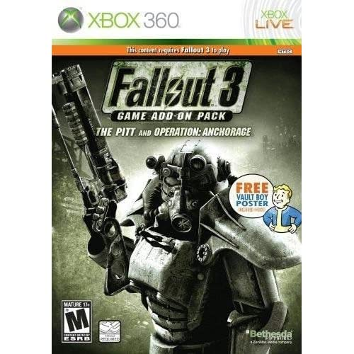 Fallout 3 Game Add-On Pack: Operation Anchorage and The Pitt (Xbox 360)