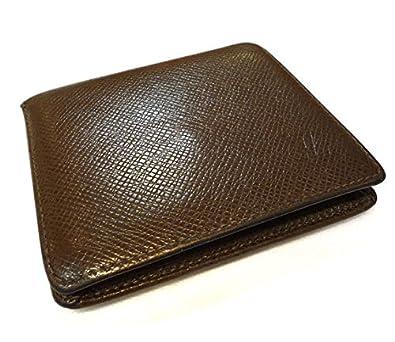 cd621e77705c Amazon | ルイヴィトン ポルトビエ3カルトクレディ 二つ折り財布 タイガ グリズリ メンズ [中古] | LOUIS VUITTON( ルイヴィトン) | 財布