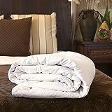 "Silk Bedding Direct SILK-FILLED DUVET. Single. Summer (4 Tog). 100% Mulberry Silk. Hypoallergenic. 200cm x 140cm / 79"" x 55"". OEKO-TEX® Standard 100 Certification. SPECIAL"