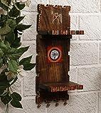 Unravel India Warli Painted Sheesham Wood 2 Flap Wall Frame