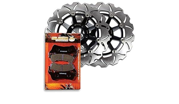 Front+Rear Brake Pads Fit For SUZUKI VLR1800 Boulevard C109 Intruder C1800 08-09